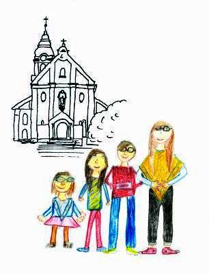 Kirchenführer für Kinder, Ausmalbilder und eine Schnitzeljagd durch ...